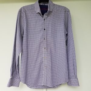 Robert Graham Gingham Shirt S Tailored Fit
